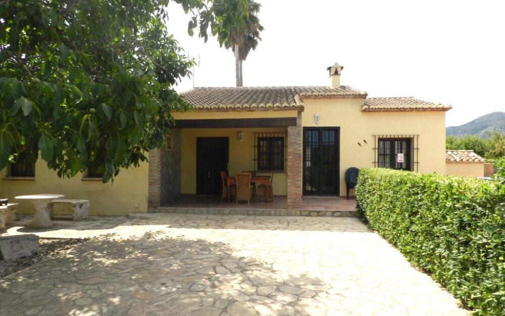 Jalón Haus mit privatem Pool Langzeitmiete